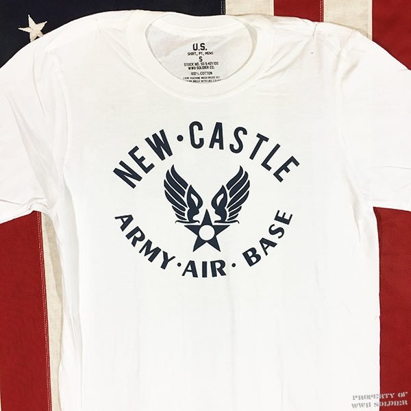 WWII New Castle T Shirt, AAF U. S. Air Forces Delaware