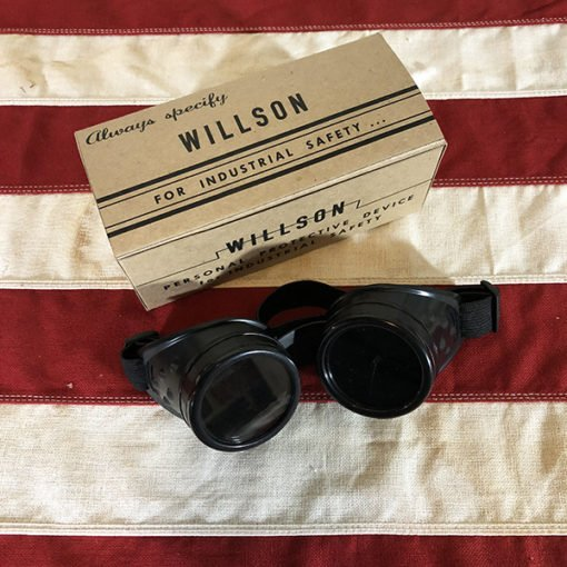 WWII Safety Goggles for Rosie the Riveter, WW2