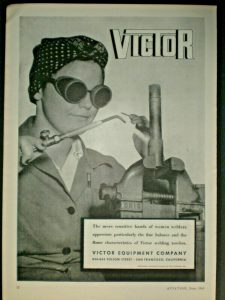 Rosie the Riveter Welding Goggles