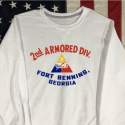 WWII 2nd Armored Division Sweatshirt WW2