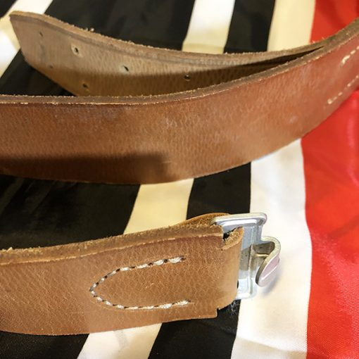 German Leather Belt