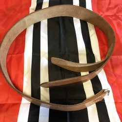 German Brown Leather Belt