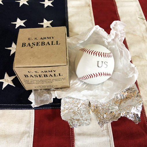 WWII US Army Baseball, WW2 reproduction