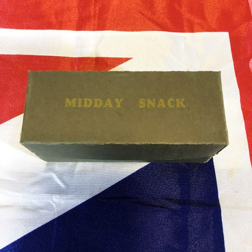 WWII British Midday Snack Ration Mid Day WW2