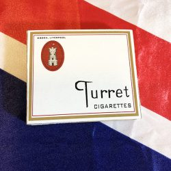 British Turret Cigarettes WWII WW2