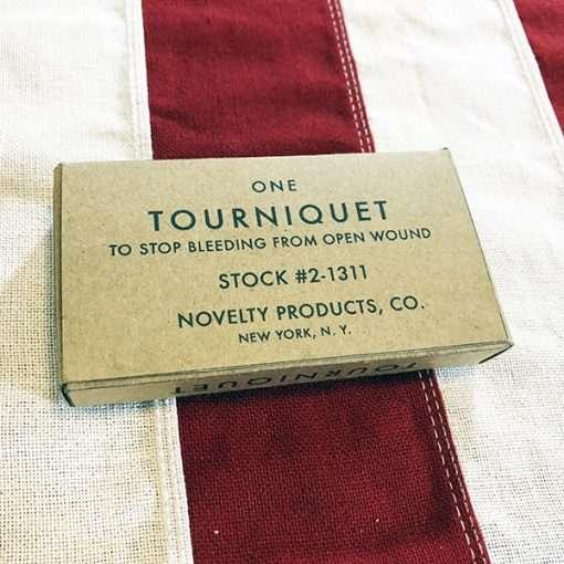 WWII Tourniquet Box WW2