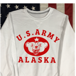 WWII US Army Alaska Sweatshirt WW2