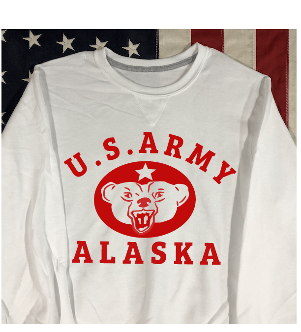 US Army Alaska Sweatshirt, WWII Reproduction