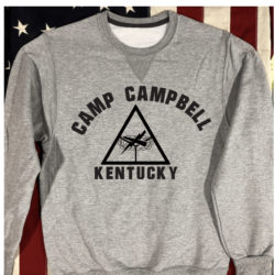 WWII Camp Campbell Sweatshirt Armored Force WW2