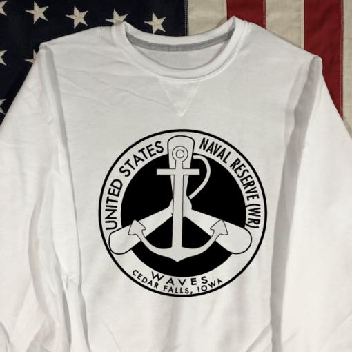 WWII WAVES Sweatshirt USN WW2