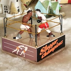 Boxing Ring tin Toy