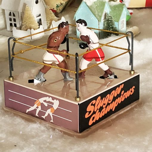 Boxing Ring tin Toy