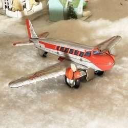 DC3 Airplane tin toy