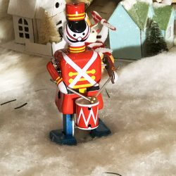 Drummer Soldier Tin Toy