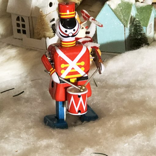 Drummer Soldier Tin Toy