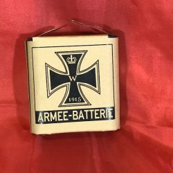 WWI Armee batterie german battery WW2
