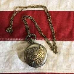 Marines Flag Pocket Watch