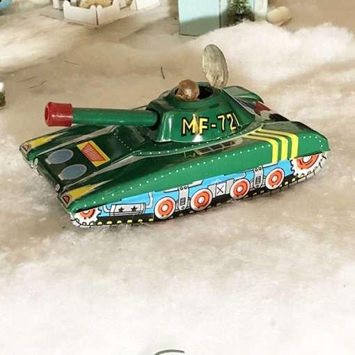 Military Tank Tin Toy
