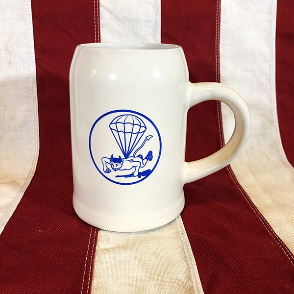 Red Devils Airborne Tankard, WWII 508th PIR Reproduction