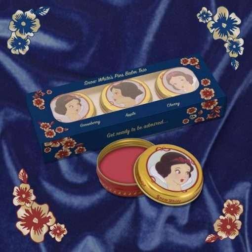 Snow White Lip Balm Trio Pies by Besame