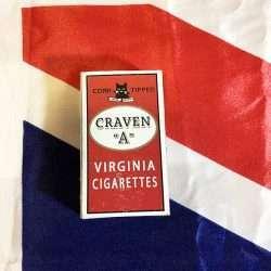 WWII British Craven A Cigarettes NAAFI WW2