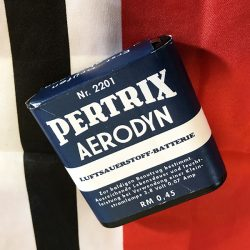 Pertrix Aerodyn Flashlight Battery WWII WW2