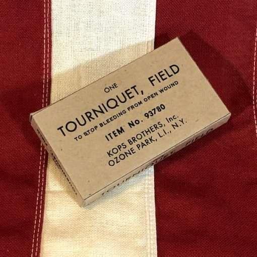 WWII Tourniquet Field Box WW2