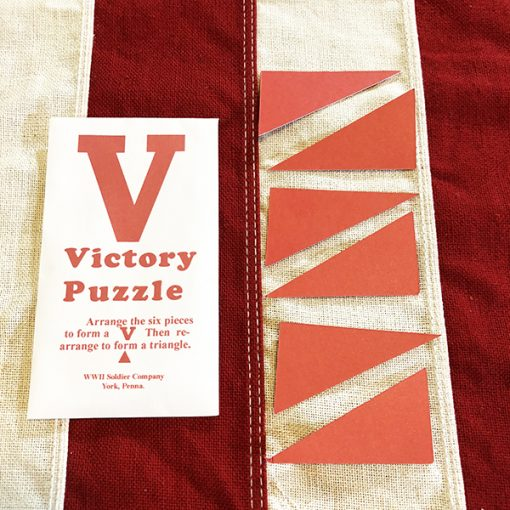 Victory Puzzle WWII WW2