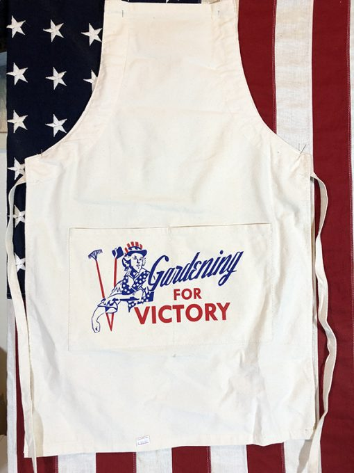 WWII Gardening For Victory Apron WW2