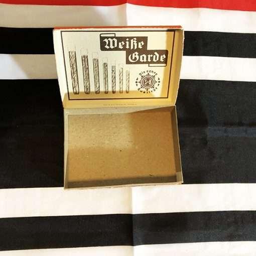Inside of Original German Cigarillo Box WW2