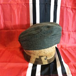 WWII German M35 Overseas Cap WW2 Heer hat