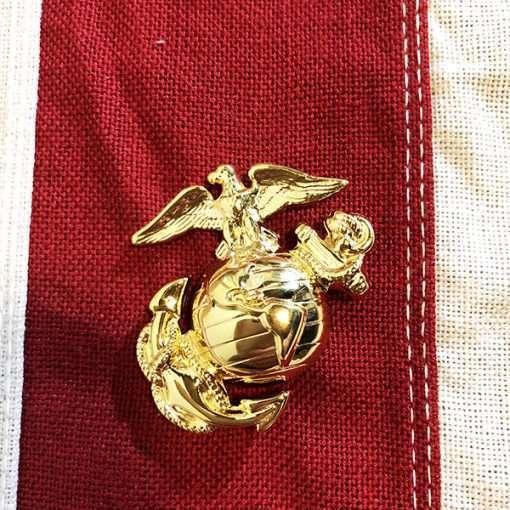 Marine Corps Cap Pin USMC WW2 WWII