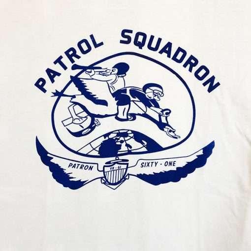 Patrol Squadron T Shirt Design WWII WW2