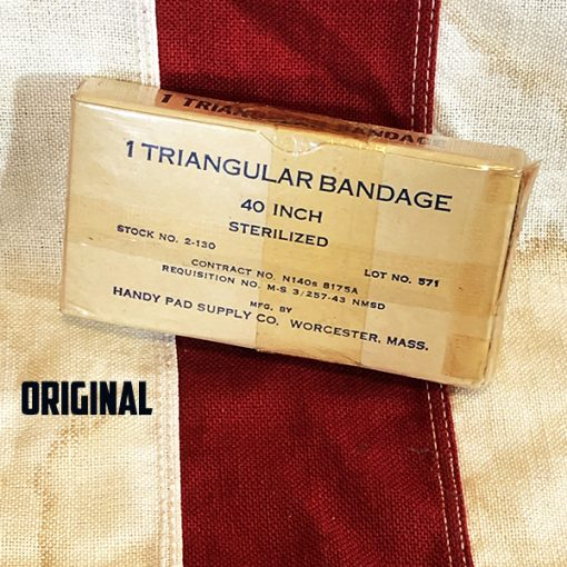 Original WWII Triangular Box