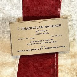 WWII Triangular Bandage Box WW2