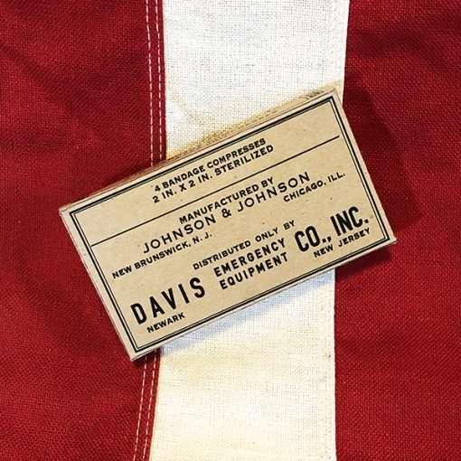 WWII 2 inch Bandage Box, WW2