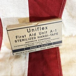 WWII Uniflex First Aid Tape Box Reproduction WW2