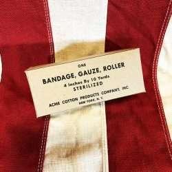 WWII Bandage Gauze Roller Boz WW2