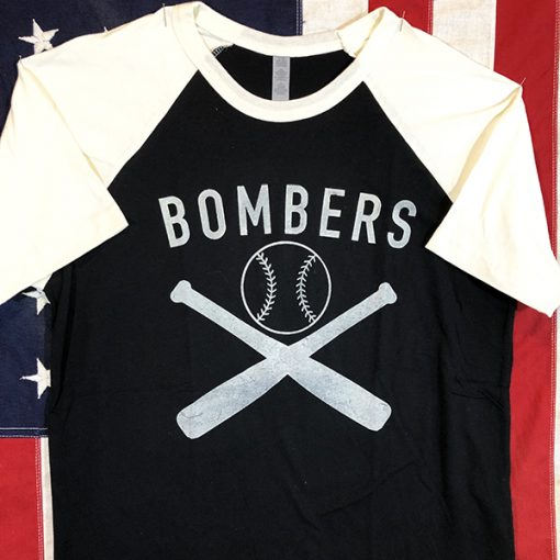 WWII Bombers Baseball Shirt AAF Army Air Force