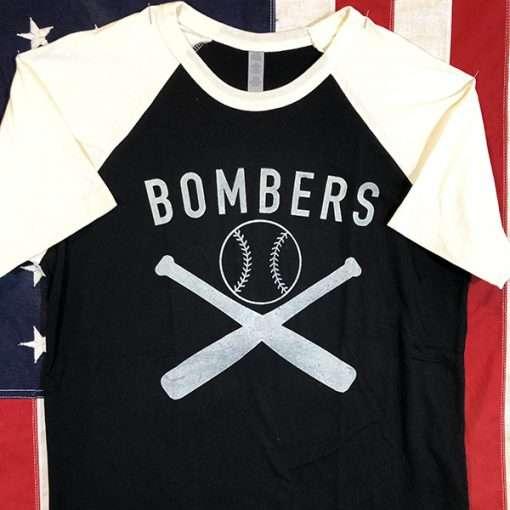 WWII Bombers Baseball Shirt AAF Army Air Force