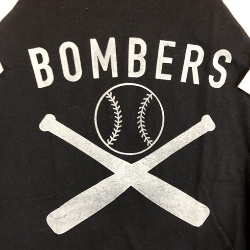 WWII Bombers Baseball Shirt Design WW2