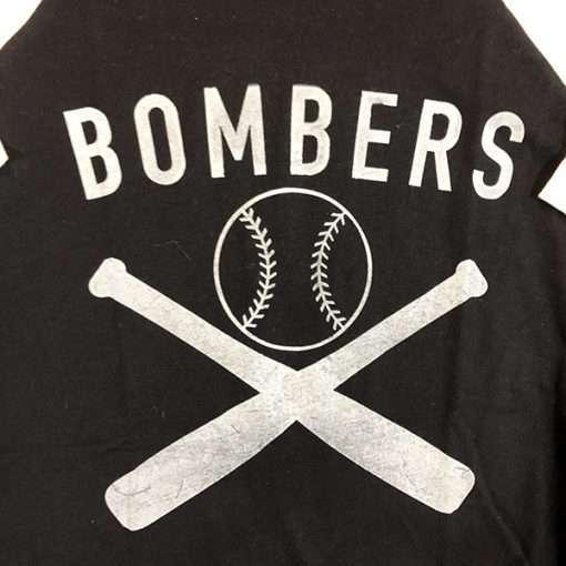 WWII Bombers Baseball Shirt Design WW2