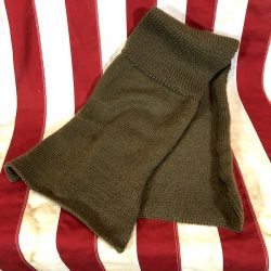 WWII Knit For Defense Scarf Wool WW2