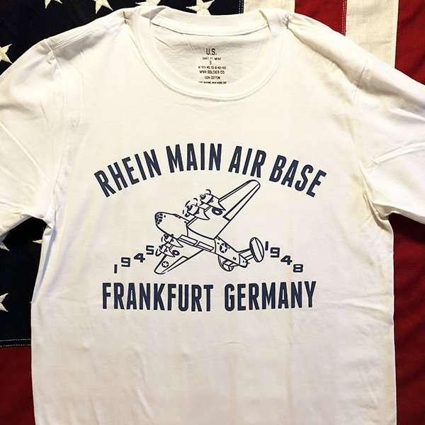 Rhein Main Air Base T Shirt reproduction, WWII AAF