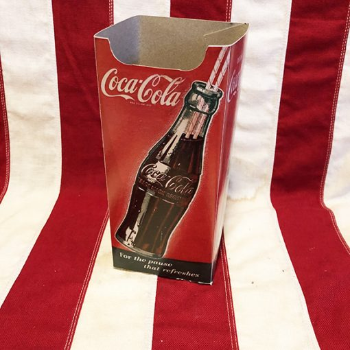 WWII Coca Cola Paper Straw Holder WW2