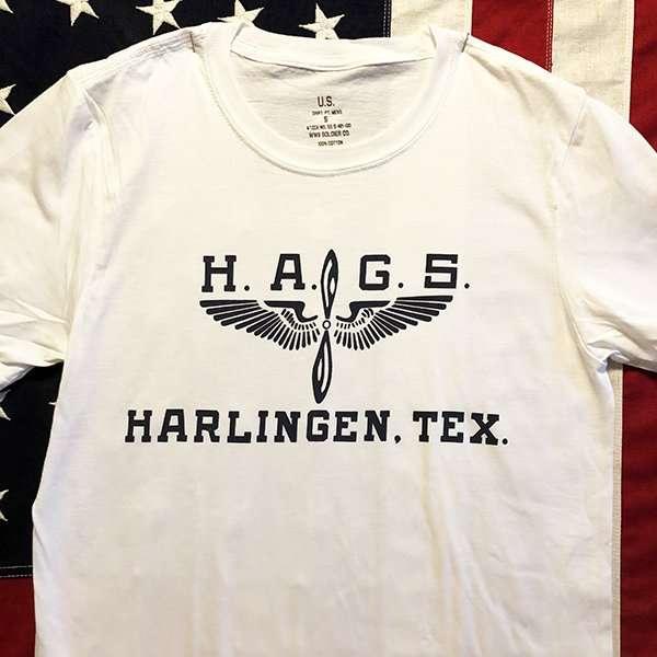 HAGS Harlingen T shirt reproduction, WWII AAF Gunnery School