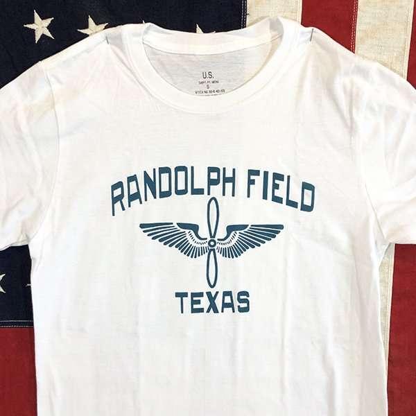WWII Randolf Field Texas T shirt reproduction, AAF Army Air Force