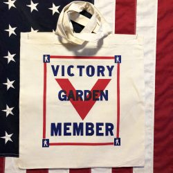 WWII Victory Garden Tote Bag