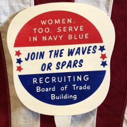 WWII Join the WAVES or SPARS Fan