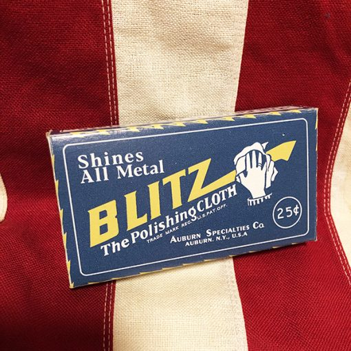 WWII Blitz Polishing Cloth WW2